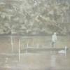 Swanlight, 2010, Öl u.Eitempera auf Lw., 180x200cm
